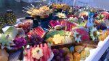 כרכרת פירות לחתונה